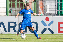 09.08.2015, Stadion Lohmühle, Luebeck, GER, DFB Pokal, VfB Luebeck vs SC Paderborn 07, 1. Runde, im Bild Moritz Stoppelkamp (Nr. 11, SC Paderborn) // during German DFB Pokal first round match between VfB Luebeck vs SC Paderborn 07 at the Stadion Lohmühle in Luebeck, Germany on 2015/08/09. EXPA Pictures © 2015, PhotoCredit: EXPA/ Eibner-Pressefoto/ KOENIG<br /> <br /> *****ATTENTION - OUT of GER*****