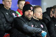 Paul Warne (Interim Manager) (Rotherham United) before the EFL Sky Bet Championship match between Rotherham United and Brighton and Hove Albion at the AESSEAL New York Stadium, Rotherham, England on 7 March 2017. Photo by Mark P Doherty.