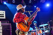 Thundercat performing at Le Poisson Rouge as part of the Red Bull Sound Select Series in New York, NY on February 19, 2014.