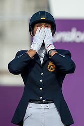 George Michele (BEL) - FBW Rainman <br /> Individual Freestyle - Grade IV<br /> London 2012 Paralympic Games<br /> © Hippo Foto - Jon Stroud