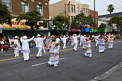 California: San Francisco Carnaval festival parade in the Mission District. Photo copyright Lee Foster. Photo # 30-casanf81490