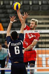 20170524 NED: 2018 FIVB Volleyball World Championship qualification, Koog aan de Zaan<br />Lorenz Koraimann (7) of Austria<br />©2017-FotoHoogendoorn.nl / Pim Waslander