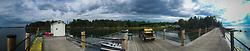 Pier, Nautlius Island, Castine, Maine, US