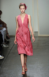 Donna Karan show at  New York Fashion Week, Monday, 10th  September 2012. Photo by: Stephen Lock / i-Images
