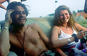 Anna & Hamish, The Mother Festival, Somerset, 1995