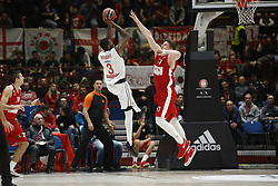 November 17, 2017 - Milan, Milan, Italy - Dorell Wright (#3 Brose Bamberg) shoots a layup during a game of Turkish Airlines EuroLeague basketball between  AX Armani Exchange Milan vs Brose Bamberg at Mediolanum Forum, on November 17, 2017 in Milan, Italy. (Credit Image: © Roberto Finizio/NurPhoto via ZUMA Press)