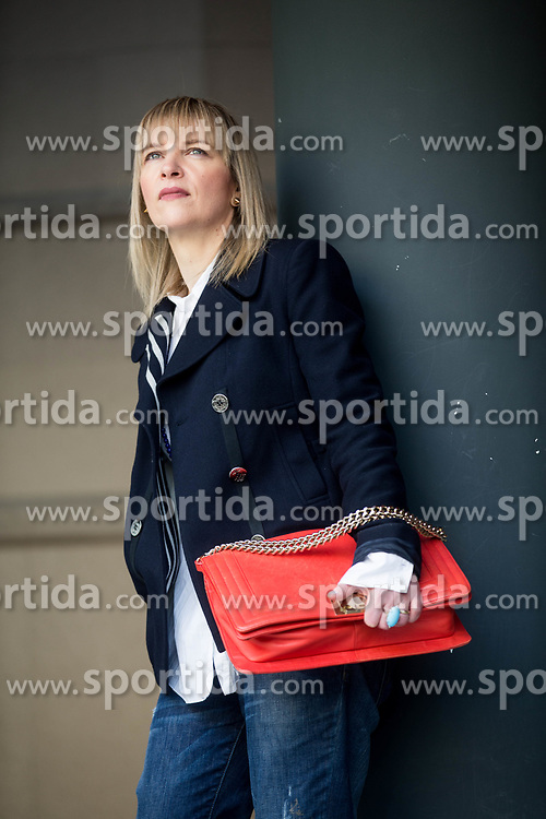 Brigita Potočki // Portrait of Brigita Potocki, Slovenian blogger and outhor of blog MJZ Fashion, on March 7, 2017 in Ljubljana, Slovenia. Photo by Vid Ponikvar / Sportida