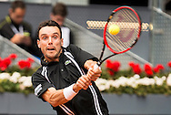 Roberto Bautista Agut during the Madrid Open at Manzanares Park Tennis Centre, Madrid<br /> Picture by EXPA Pictures/Focus Images Ltd 07814482222<br /> 05/05/2016<br /> ***UK &amp; IRELAND ONLY***<br /> EXPA-ESP-160505-0090.jpg