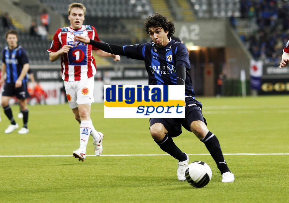 Fotball , 5. april 2010 , Tippeligaen , Eliteserien , <br /> Stab&aelig;k - Troms&oslash; 0-1<br /> <br /> Diogo da Costa Oliveira , Stab&aelig;k
