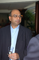 AJAY SODAH at a fundraising dinner for the charity 'Elephant Family' held at The Bombay Brasserie, Gloucester Road, London on 26th April 2005.<br /><br />NON EXCLUSIVE - WORLD RIGHTS