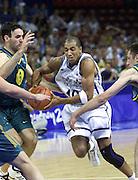 Giochi Olimpici Sydney 2000<br /> Italia-Australia<br /> Nella foto: Carlton Myers<br /> Foto Ciamillo