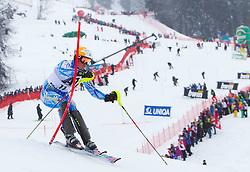 22.01.2012, Ganslernhang, Kitzbuehel, AUT, FIS Weltcup Ski Alpin, 72. Hahnenkammrennen, Herren, Slalom 1. Durchgang, im Bild Mattias Hargin (SWE) // Mattias Hargin of Sweden during Slalom race 1st run of 72th Hahnenkammrace of FIS Ski Alpine World Cup at 'Ganslernhang' course in Kitzbuhel, Austria on 2012/01/22. EXPA Pictures © 2012, PhotoCredit: EXPA/ Johann Groder