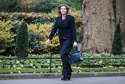 © Licensed to London News Pictures. 09/11/2017. London, UK. Penny Mordaunt arrives on Downing Street. Photo credit: Rob Pinney/LNP
