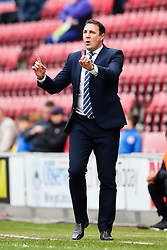 Wigan Athletic Manager, Malky Mackay - Photo mandatory by-line: Matt McNulty/JMP - Mobile: 07966 386802 - 06/04/2015 - SPORT - Football - Wigan - DW Stadium - Wigan Athletic v Derby County - SkyBet Championship