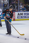 KELOWNA, CANADA - MARCH 03:  Bark N' Fly at the Kelowna Rockets game on March 03, 2018 at Prospera Place in Kelowna, British Columbia, Canada.  (Photo By Cindy Rogers/Nyasa Photography,  *** Local Caption ***