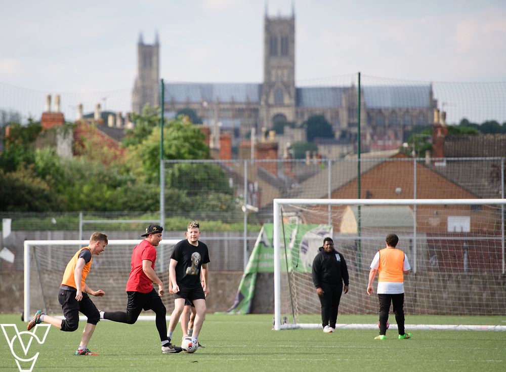 Lincoln City FC Sport &amp; Education Trust - Imps in the Community - Community Football<br /> <br /> Picture: Chris Vaughan Photography <br /> <br /> Date: June 14, 2017