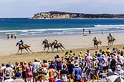 DIGICAM 000 csz010218.001.001.jpg.Digicam000.Ocean Grove horse racing on the beach, Finish of The Ocean Grove Cup.Pic By Craig Silltoe***FDCTRANSFER*** This photograph can be used for non commercial uses with attribution. Credit: Craig Sillitoe Photography / http://www.csillitoe.com<br />