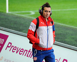 Arsenal's Santi Cazorla  - Photo mandatory by-line: Joe Meredith/JMP - Mobile: 07966 386802 - 09/11/2014 - SPORT - Football - Swanswa - Liberty Stadium - Swansea City v Arsenal - Barclays Premier League