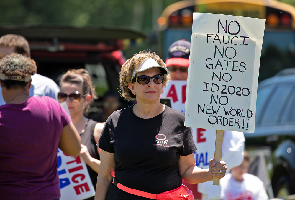 May 2, 2020 Baton Rouge, LA-A  Open Louisiana protest, where people came out to show Gov. John Bel Edward's their displeasure with his order keeping the stay-at-home measures he put in place to stop the spread of COVID=19 in place until May 15