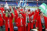 24-04-2016 VOETBAL: KNVB BEKERFINALE FEYENOORD-FC UTRECHT: ROTTERDAM <br /> <br /> Feyenoord wint de KNVB beker met Dirk Kuyt van Feyenoord<br /> <br /> foto: Geert van Erven
