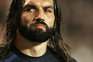 Rugby World Cup, France v Argentina, 19 October 2007. Sebastien Chabal with a bloody eye at the Parc des Princes, Paris, France. Friday 19 October 2007. Photo: Ron Gaunt/Sportzpics.net