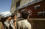 Afghanistan. after the coup d'etat of the communist party against daoud; / ad showing the new leaders  Kabul  Afghanistan  / apres le coup d'etat du parti communiste contre Daoud; affiches montrant les nouveaux dirigeants  Kaboul  Afghanistan  / NB 26700 25/ AFG26700 25B