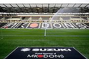 Stadium shot showing Suzuki branding during the EFL Sky Bet League 1 match between Milton Keynes Dons and Bury at stadium:mk, Milton Keynes, England on 27 September 2016. Photo by Dennis Goodwin.