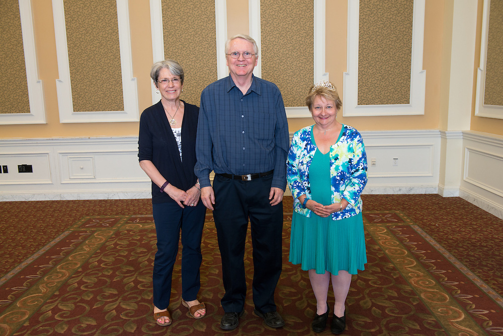 30+ years of Service Award (Left to Right) Terry Swank, Timothy Smith and Cathy Waller.