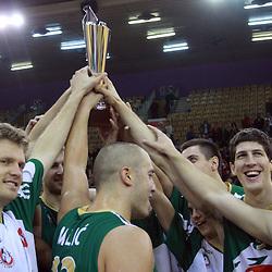 20080928: Basketball - Union Olimpija vs Maccabi