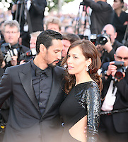 Stany Coppet and Dolores Chaplin attend the gala screening of Lawless at the 65th Cannes Film Festival. The screenplay for the film Lawless was written by Nick Cave and Directed by John Hillcoat. Saturday 19th May 2012 in Cannes Film Festival, France.