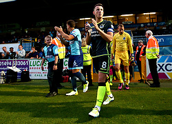 Ollie Clarke of Bristol Rovers leads his team out to face Wycombe Wanderers - Mandatory by-line: Robbie Stephenson/JMP - 29/08/2017 - FOOTBALL - Adam's Park - High Wycombe, England - Wycombe Wanderers v Bristol Rovers - Checkatrade Trophy