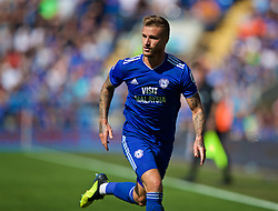 CARDIFF, WALES - Sunday, September 2, 2018: Cardiff City's Joe Bennett during the FA Premier League match between Cardiff City FC and Arsenal FC at the Cardiff City Stadium. (Pic by David Rawcliffe/Propaganda)