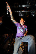 The Devil Wears Prada performing at Pop's in Sauget, IL on November 2, 2008 in support of Underoath.