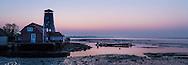 Sunrise at Langstone, Hampshire.<br /> Picture date: Thursday April 9, 2015.<br /> Photograph by Christopher Ison &copy;<br /> 07544044177<br /> chris@christopherison.com<br /> www.christopherison.com
