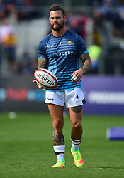 Francois Hougaard of Worcester Warriors warms up. - Mandatory by-line: Alex James/JMP - 28/09/2019 - RUGBY - Recreation Ground - Bath, England - Bath Rugby v Worcester Warriors - Premiership Rugby Cup