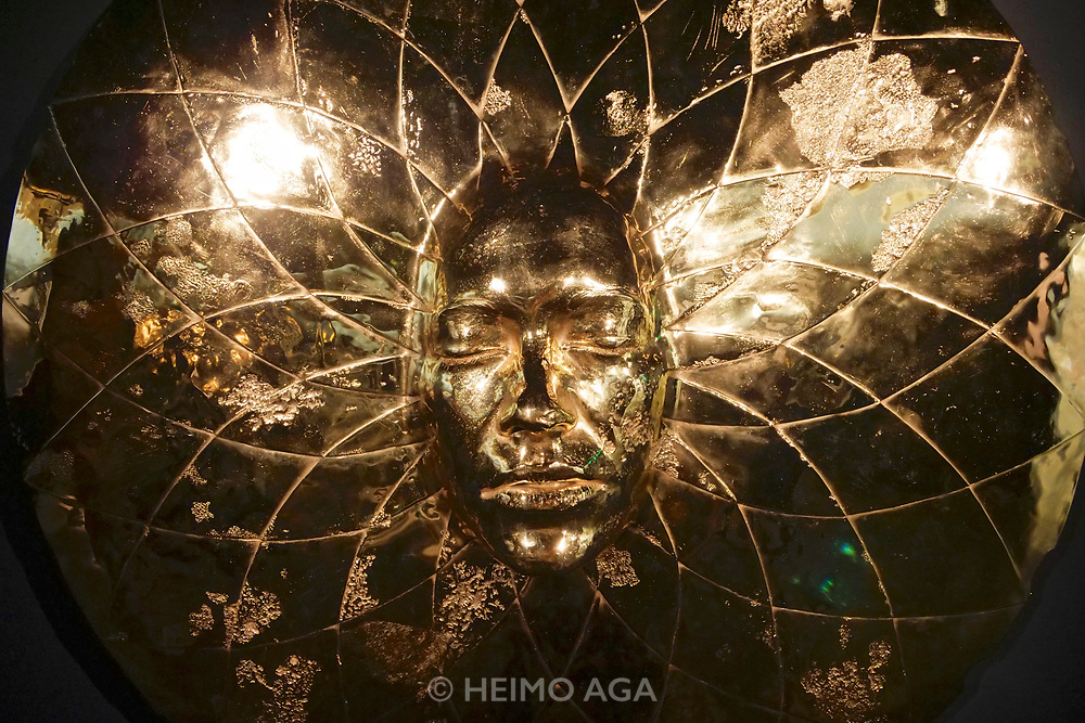 Punta della Dogana.<br /> Damien Hirst: Treasures from the Wreck of the Unbelievable.<br /> Sun Disc.