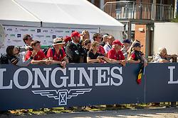 Team Belgium, De Smedt Eddy, Desmedt Jef, Lachet Hugo, Van den Abeele Alec, De Liedekerke Lara<br /> European Championship Eventing<br /> Luhmuhlen 2019<br /> © Hippo Foto - Dirk Caremans