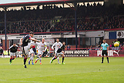 Dundee&rsquo;s Darren O&rsquo;Dea fires home the equaliser from the penalty spot - Dundee v Ross County, in the Ladbrokes Scottish Premiership at Dens Park, Dundee, Photo: David Young<br /> <br />  - &copy; David Young - www.davidyoungphoto.co.uk - email: davidyoungphoto@gmail.com
