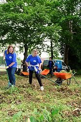 Pictured is Louise Flint, left, and Liz Cruickshank<br /> <br /> Lincolnshire Co-op colleagues and volunteers from the local community have been helping look after the Hartsholme area of Lincoln by taking part in the ongoing Big Co-op Clean.<br /> <br /> Picture: Chris Vaughan Photography for Lincolnshire Co-op<br /> Date: June 4, 2019