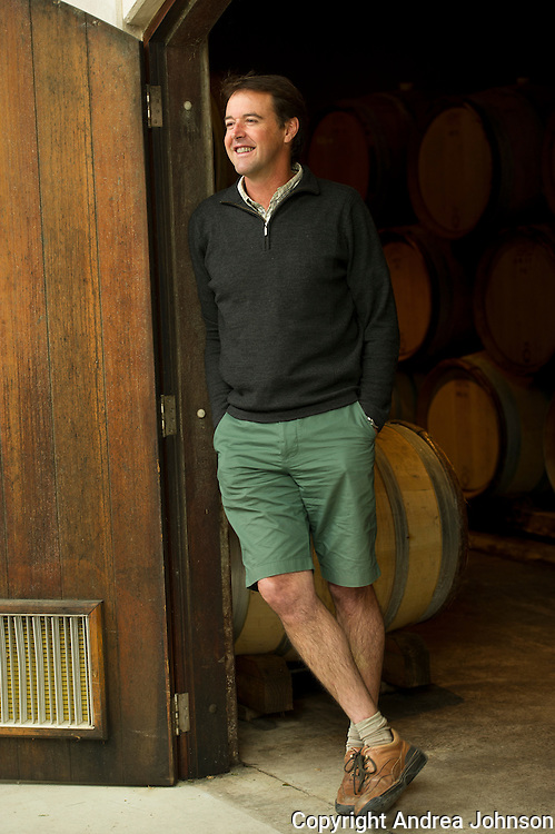 Blair Walter, winemaker, Felton Road, Central Otago, New Zealand
