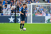 Benjamin Pavard (FRA) during the UEFA Nations League, League A, Group 1 football match between France and Netherlands on September 9, 2018 at Stade de France stadium in Saint-Denis near Paris, France - Photo Stephane Allaman / ProSportsImages / DPPI