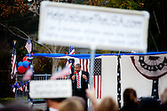 Don Hamer speaks to the crowd at a Tea Party Rally held at Renette Park in El Cajon on Feb. 20, 2010. Hamer is pastor of Zion Christian Fellowship and CEO of Kuyper Preparatory Schools in San Diego.