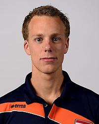 13-05-2014 NED: Selectie Nederlands volleybal team mannen, Arnhem<br /> Op Papendal werd het Nederlands team volleybal seizoen 2014-2015 gepresenteerd / Arne Hendrks
