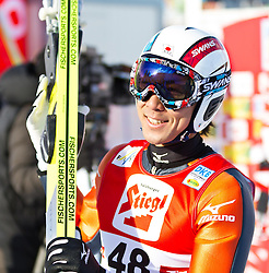 19.12.2011, Casino Arena, Seefeld, AUT, FIS Nordische Kombination, Ski Springen HS 109, im Bild Akito Watabe (JPN) // Akito Watabe of Japan during Ski jumping at FIS Nordic Combined World Cup in Sefeld, Austria on 20111211. EXPA Pictures © 2011, PhotoCredit: EXPA/ P.Rinderer