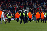 Photo: Kevin Poolman.<br />AFC Bournemouth v Brentford. Coca Cola League 1. 06/05/2006. Bournemouth fans invaid the pitch after the game.