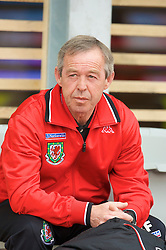 REYKJAVIK, ICELAND - Wednesday, May 28, 2008: Wales' National Intermediate Teams Manager Brian Flynn before the international friendly match against Iceland at the Laugardalsvollur Stadium. (Photo by David Rawcliffe/Propaganda)