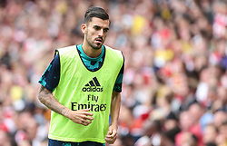 Dani Ceballos of Arsenal warms up - Mandatory by-line: Arron Gent/JMP - 28/07/2019 - FOOTBALL - Emirates Stadium - London, England - Arsenal v Olympique Lyonnais - Emirates Cup