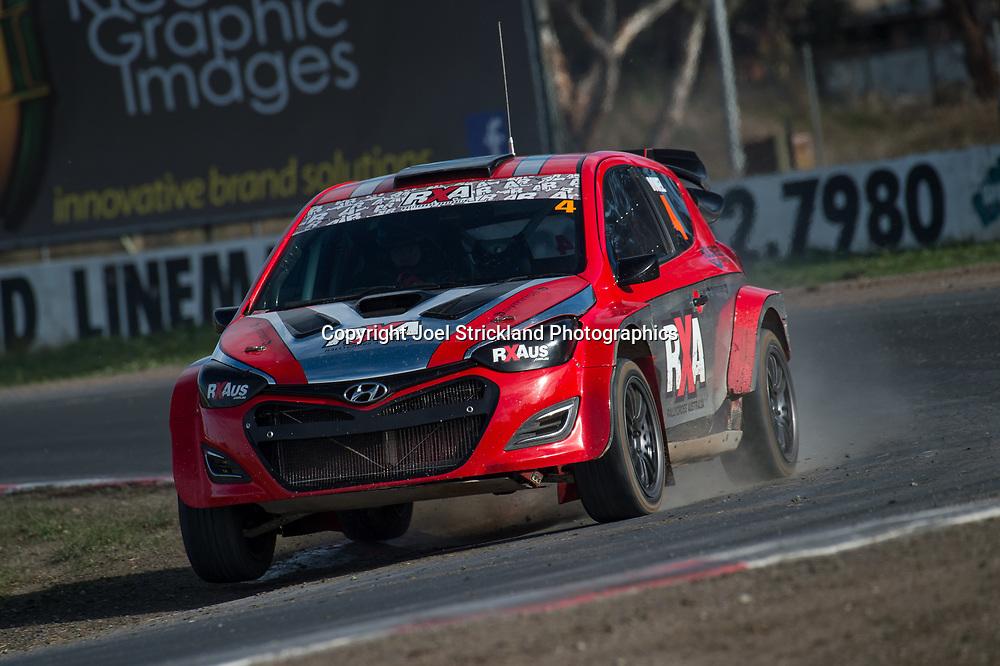 Justin Dowel, Hyundai i20 RX - Rallycross Australia - Winton Raceway - 16th July 2017