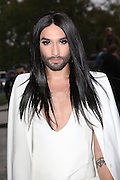 CONCHITA WURST - ARRIVAL OF CELEBRITIES AT PARADE Akris .<br /> ©Exclusivepix Media