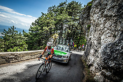 Lorenzo Rota (ITA) of Bardiani CSF during 4th Stage of 26th Tour of Slovenia 2019 cycling race between Nova Gorica and Ajdovscina (153,9 km), on June 22, 2019 in Slovenia. Photo by Vid Ponikvar / Sportida